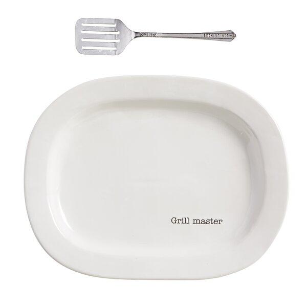 Circa 2 Piece Grill Master Platter Set by Mud Pie™