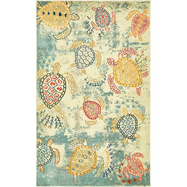 Gwen Beige Area Rug by Bayou Breeze