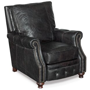Affordable Winslow Leather Manual Recliner By Hooker Furniture