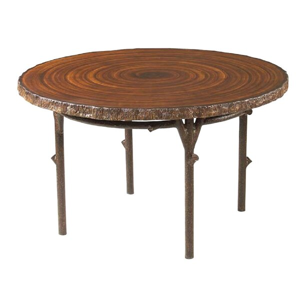 Chatham Heartwood Round Wooden Dining Table by Woodard