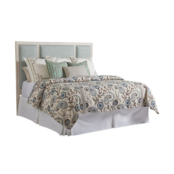 Newport California King Upholstered Panel Headboard by Barclay Butera