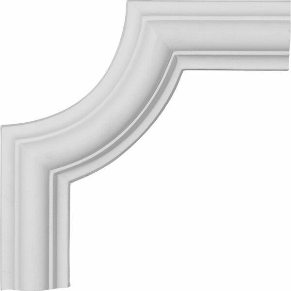 Ashford 6 1/8H x 6 1/8W Panel Moulding Corner by Ekena Millwork