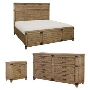 Brigadoon Panel Configurable Bedroom Set