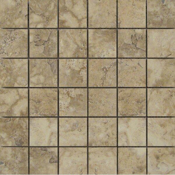 Lucerne 2 x 2/13 x 13 Porcelain Mosaic Tile in Pilatus by Emser Tile