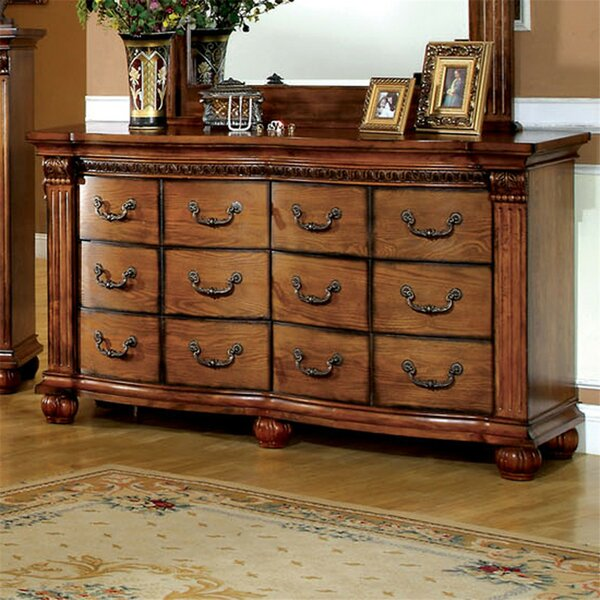 Goulet 6 Drawer Double Dresser by Astoria Grand