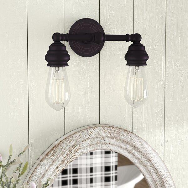Ivie 2-Light Vanity Light by Laurel Foundry Modern Farmhouse
