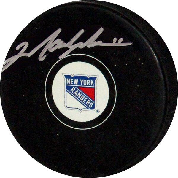 Decorative Mark Messier Rangers Autograph Puck by Steiner Sports