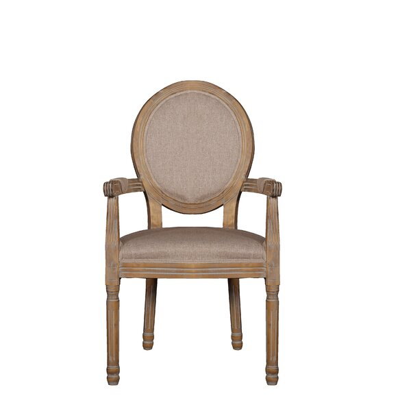 Jaelanie Distressed Room Upholstered Dining Chair by Ophelia & Co.