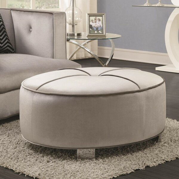 Southall Contemporary Tufted Ottoman by Everly Quinn
