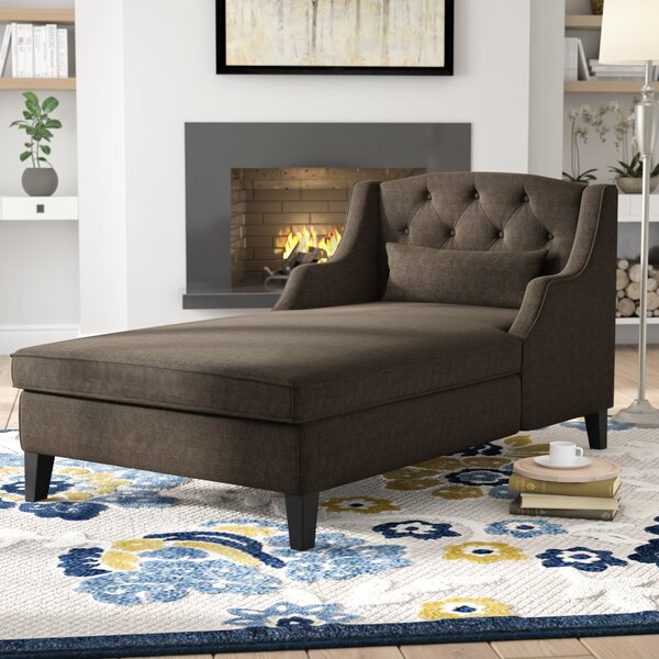 Emsworth Chaise Lounge by Three Posts