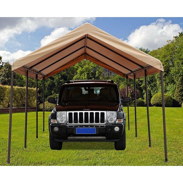 10 Ft. W x 20 Ft. D Steel Pop-Up Canopy by SoraraOutdoorLiving