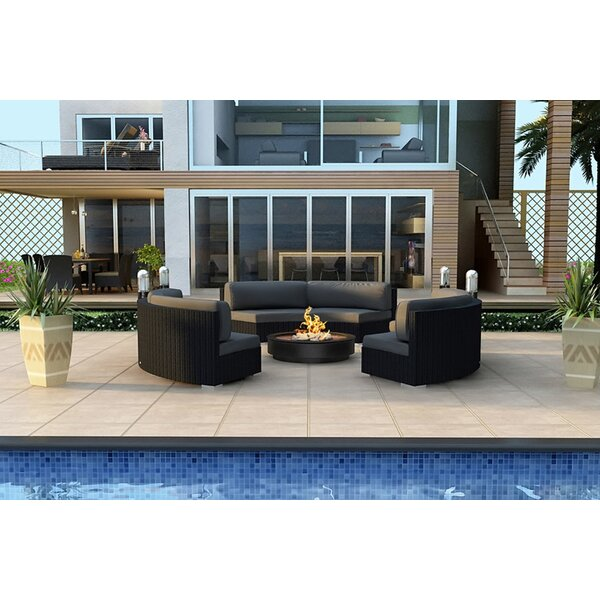 Azariah 3 Piece Sunbrella Sofa Seating Group  with Cushions by Orren Ellis