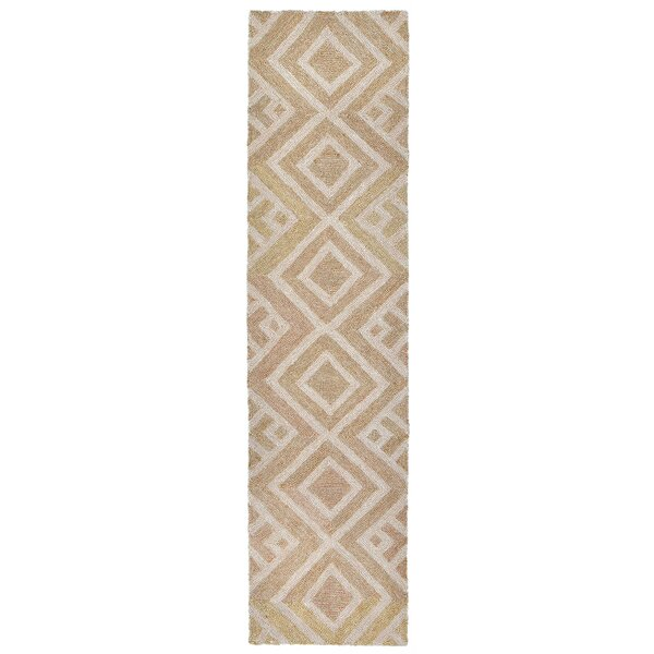 Chamness Hand-Tufted Neutral Indoor/Outdoor Area Rug by Wrought Studio