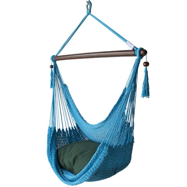 Blanco Polyester Chair Hammock by Highland Dunes Highland Dunes