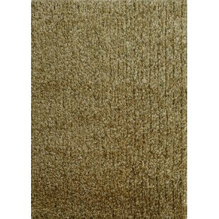 Harmony 2 Toned Green Shag Area Rug