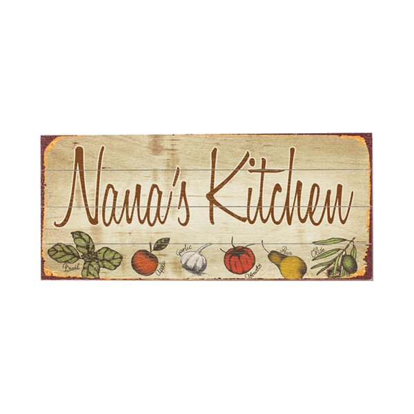 Personalized Kitchen Vintage Advertisement Multi-Piece Image in Brown/Red by Artehouse LLC