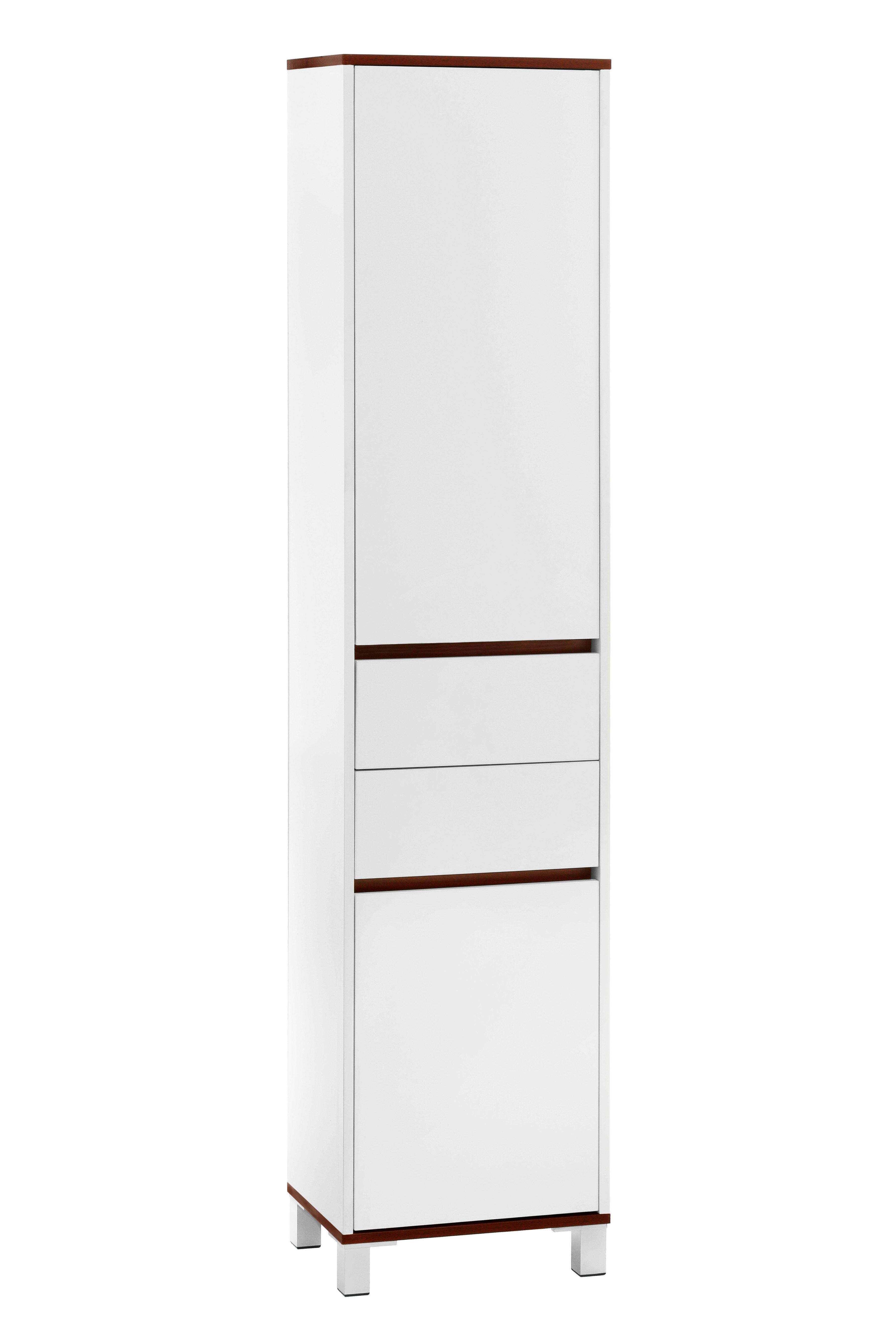 Castleton Home 40 x 180cm Free Standing Tall Bathroom Cabinet ...
