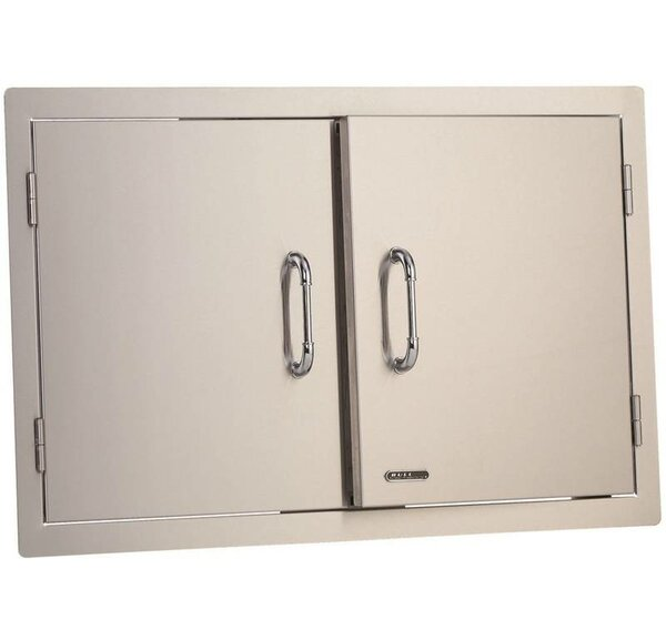 Stainless Steel Double Door by Bull Outdoor Products