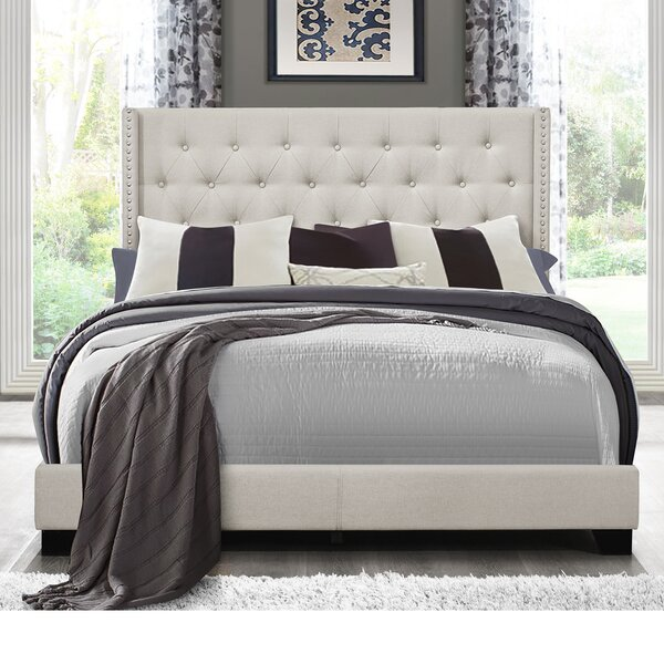 Alfreda Upholstered Platform Bed by Canora Grey