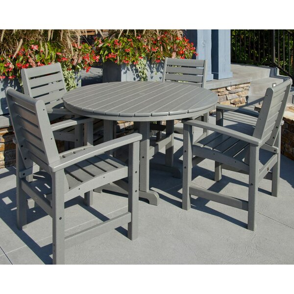 Signature 5-Piece Dining Set by POLYWOOD®