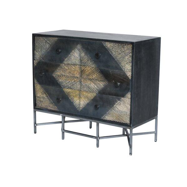 Muir 3 Drawer Dresser by Wrought Studio