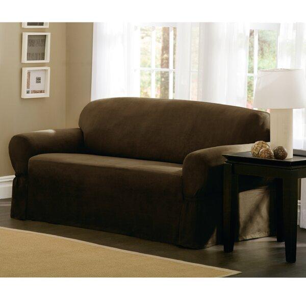 Box Cushion Loveseat Slipcover by Maytex