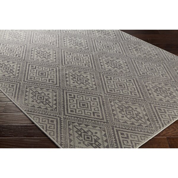 Tierney Gray Area Rug by Mistana