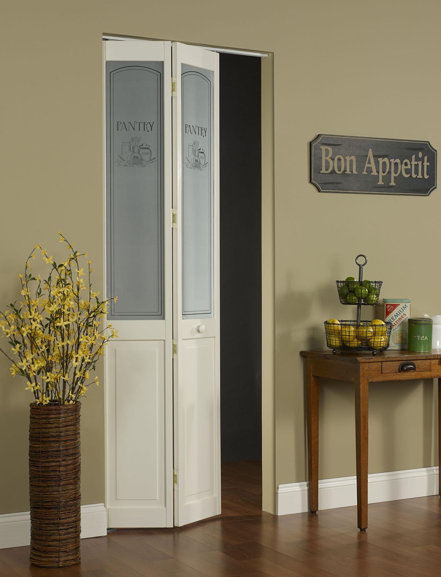 Ltl Bi Fold Doors Pantry Pine Wood Unfinished Bi Fold Interior Door