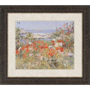 Celia's Garden Framed Painting Print by Paragon