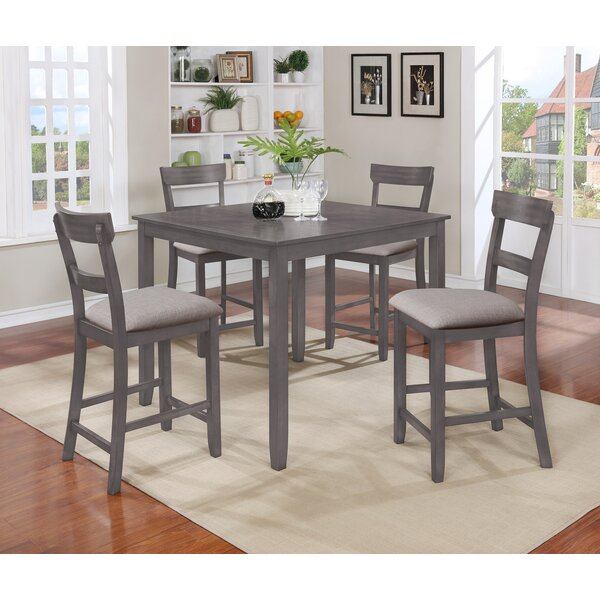 Wilmoth 5 Piece Counter Height Dining Set