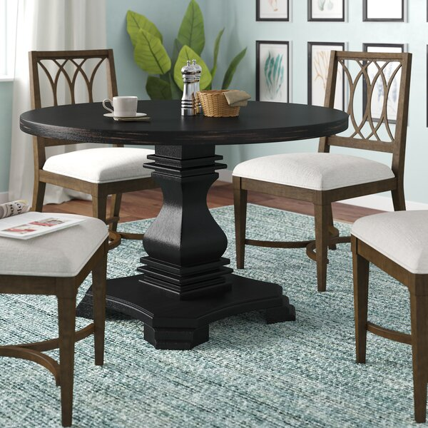 Jaquez Solid Wood Dining Table by Alcott Hill