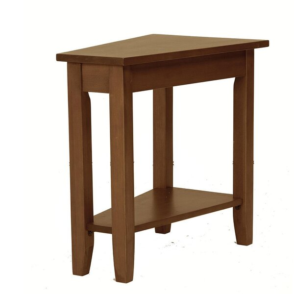 Seger Angled End Table by Alcott Hill