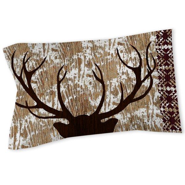 Deer Horn Sham By East Urban Home.