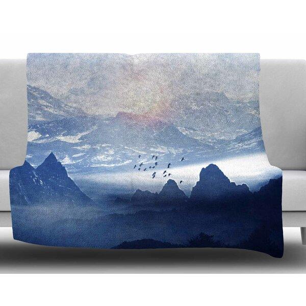 Winter, Melody by Viviana Gonzalez Fleece Blanket by East Urban Home