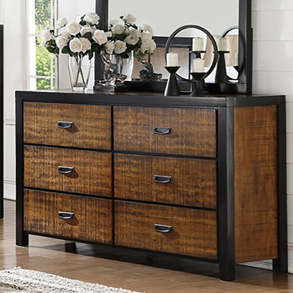 Grijalva 6 Drawer Double Dresser by Bay Isle Home