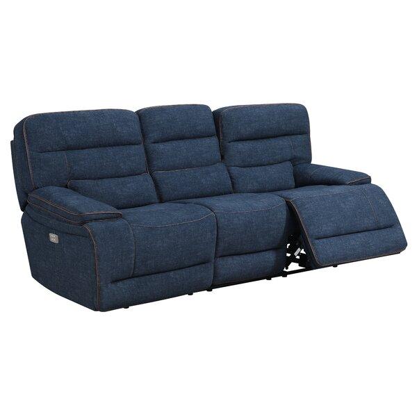 Avis Reclining Sofa by Winston Porter
