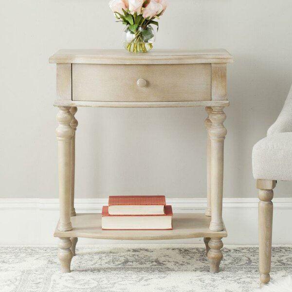 Rosanna End Table with Storage by Safavieh