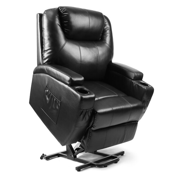 Hilliger Massage Power Lift Assist Recliner By Red Barrel Studio