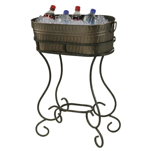 Entertainment Steel Beverage Tub by Howard Miller�