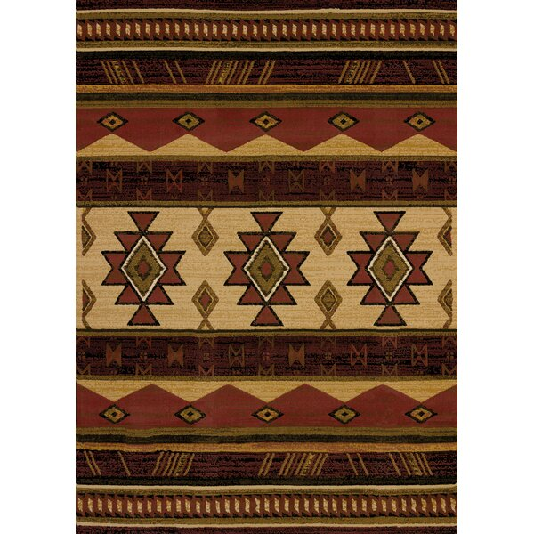 Juniata Southwest Wind Auburn Area Rug by Loon Peak