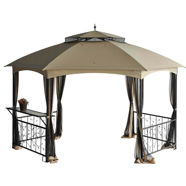Replacement Canopy (Deluxe) for Hexagon Leaf Gazebo by Sunjoy