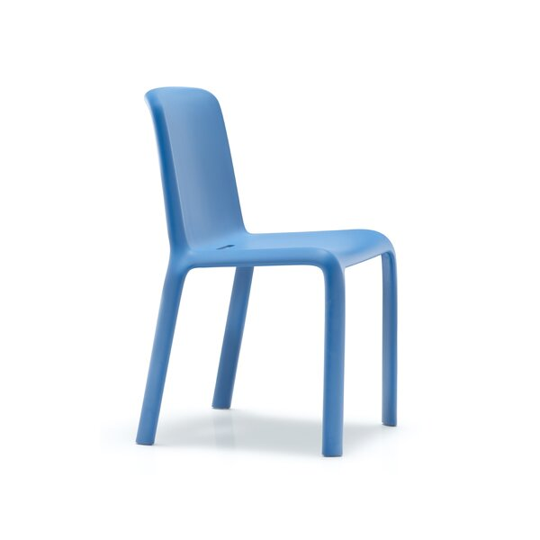 Snow Armless Stacking Chair by Palmieri