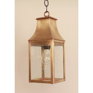 Best Reviews Brook Farm 1-Light Hanging Lantern By Darby Home Co