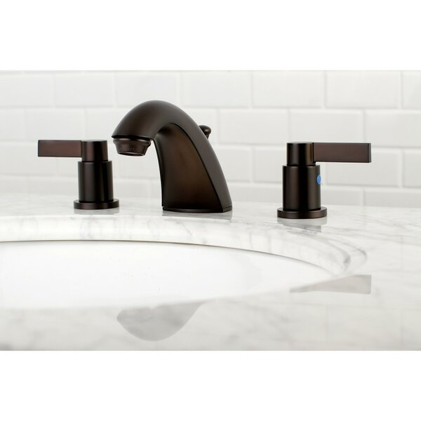 NuvoFusion Mini-Widespread Bathroom Faucet with Drain Assembly