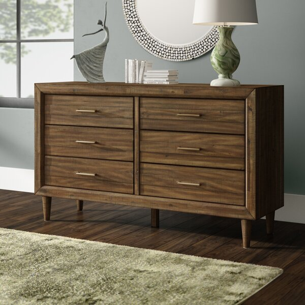 Isabella 6 Drawer Double Dresser by Modern Rustic Interiors