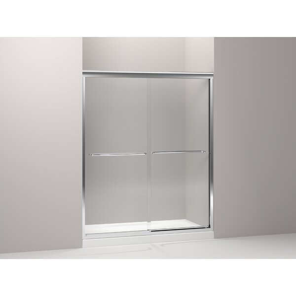 Fluence 59.63 x 75 Bypass Shower Door by Kohler