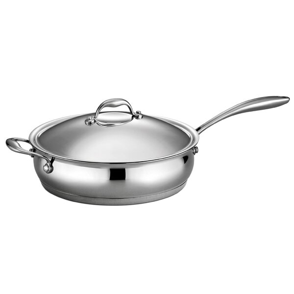 Gourmet Domus 5-qt. Saute Pan with Lid by Tramontina
