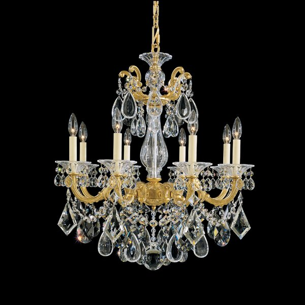 La Scala 8-Light Chandelier by Schonbek