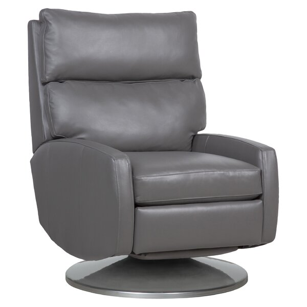 Aspire Leather Manual Glider Recliner By Fairfield Chair