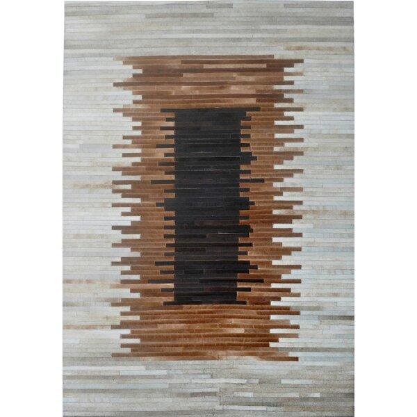 Brown/Beige Area Rug by Modern Rugs